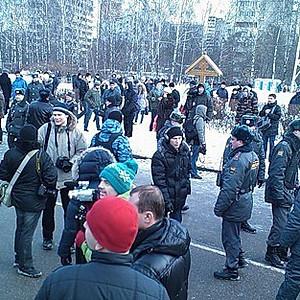 40 дней со дня памяти Егора Свиридова - Манежка