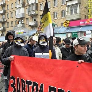Руссский Первомай 2011 г.