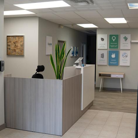 Oak Medical | Algoma | Reception