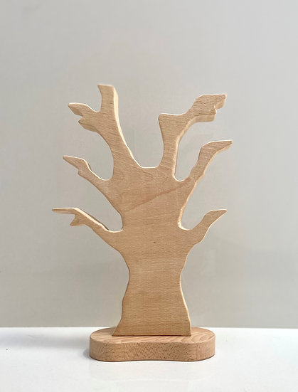 Wooden branch tree