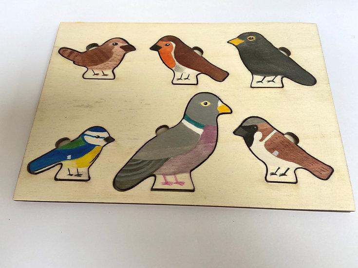 Garden Birds jigsaws