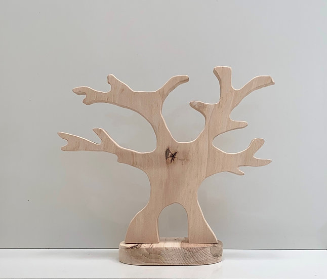 Wooden oak tree