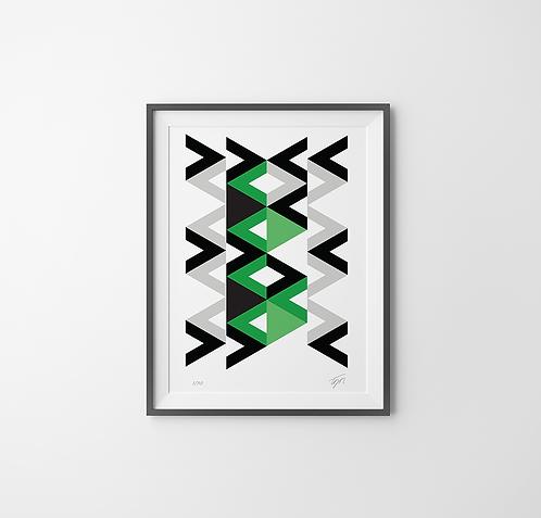 Pattern (sem moldura e vidro)