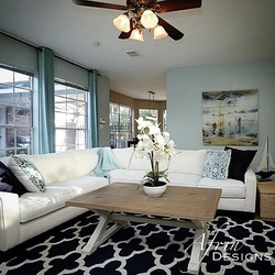 Here is the other side of the family room
