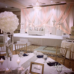 Here is the full event from last week's sneak peak! Beautiful blush pink, ivory, and hint of navy ma