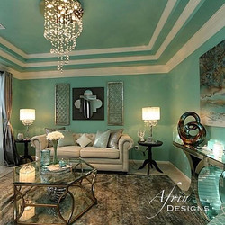When I'm not doing events, I am working on residential interiors