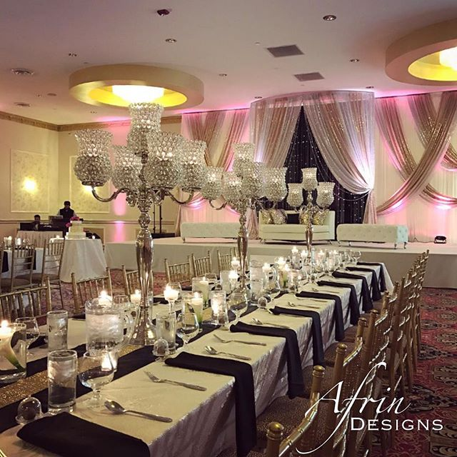 Here is a gorgeous wedding we did! I love creating head tables