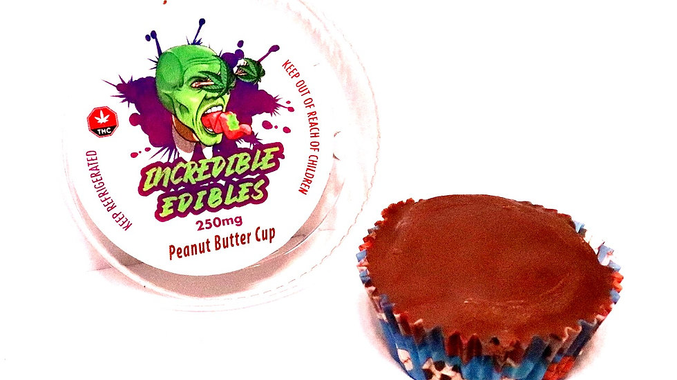 Peanut butter cup 250 mg