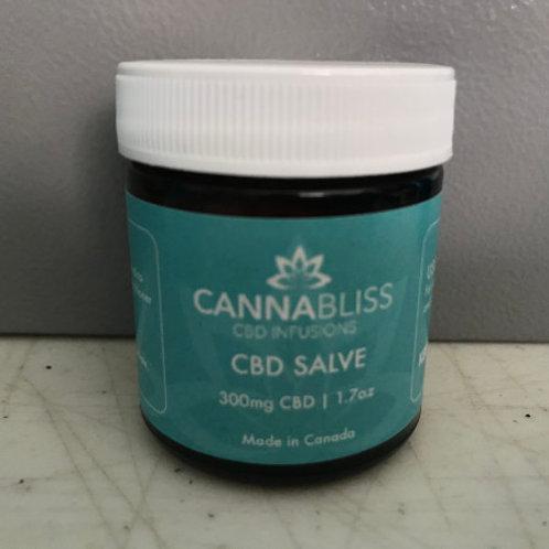 CannaBliss CBD Salve - 300mg