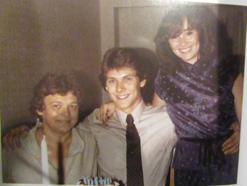 Left to right Marilyn, Paul and Deborah Bernardo  taken before 1987: