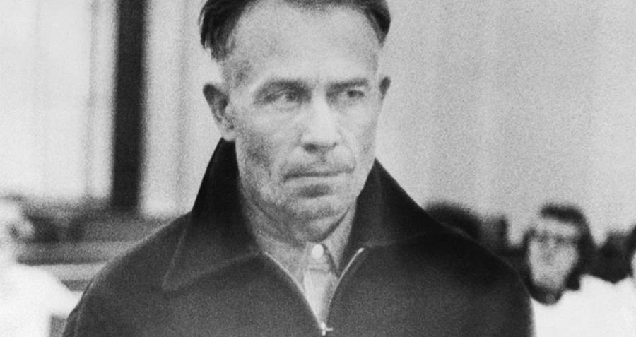The Infamous Ed Gein known for using victims body parts to make home decor out of.