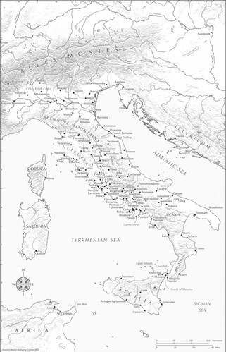 Italy and Sicily
