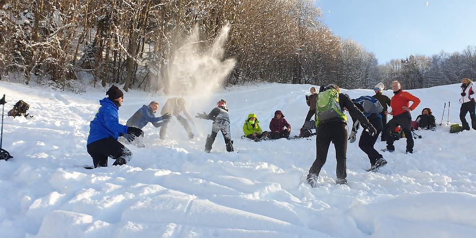 Escursione sulla neve tra gli alpeggi della Val Brembana - Quelli del Mercoledì