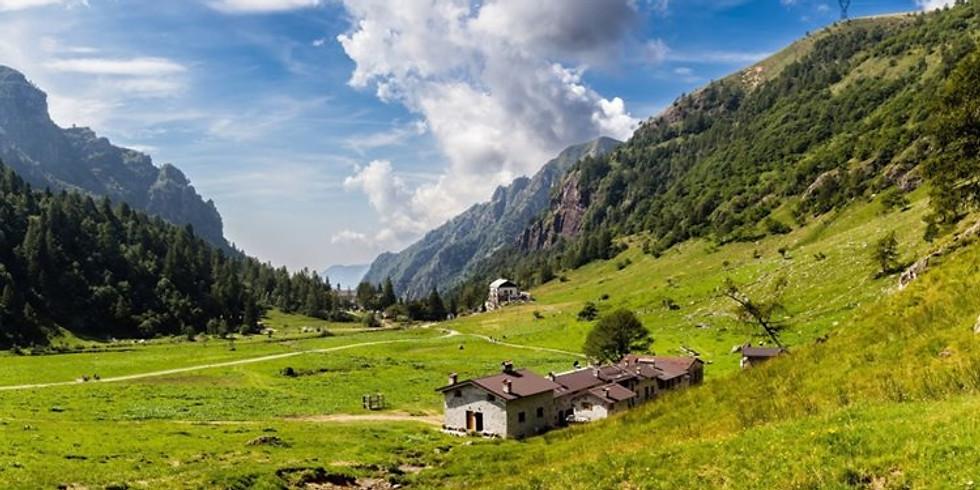 """Escursione di 2 giorni """"Alla scoperta della Val Biandino"""""""