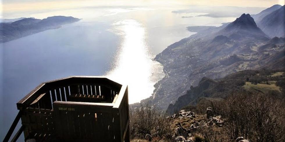 """Escursione in Vetta a Cima Comer Lago di Garda - """"Quelli del mercoledì"""""""
