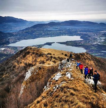 Escursione Lago di Como Gruppo Giovani Risate Vetta C