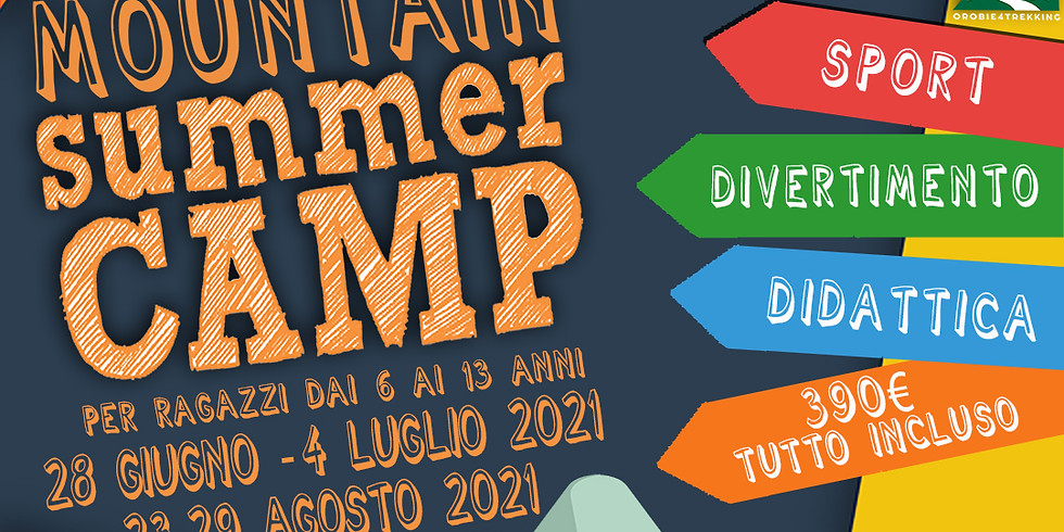 Mountain Summer Camp - Campus estivo per ragazzi