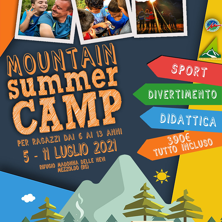 Mountain Summer Camp - Campus estivo per ragazzi - POSTI ESAURITI