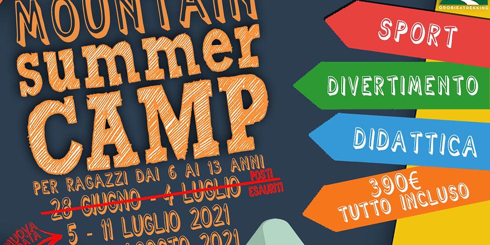 Mountain Summer Camp - Campus estivo per ragazzi POSTI ESAURITI