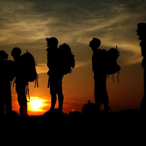 Escursione notturna con cena al rifugio