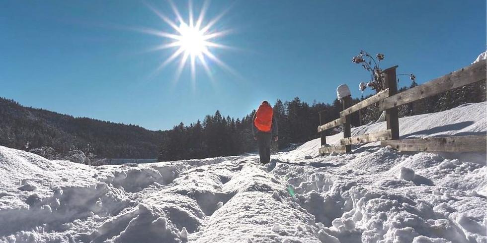 Escursione sulla neve tra le cime della Val Brembana