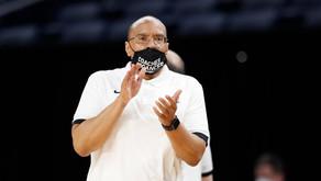 Battle gets 1st W as Head Coach in Friar win