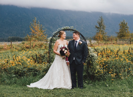 M & S Fraser River Lodge Wedding