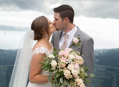 A & B Grouse Mountain Wedding