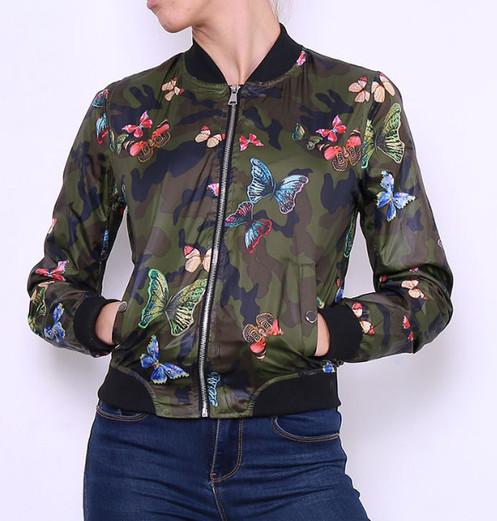 Jacket Camouflage M692vb Veste Veste Jacket Papillon Papillon gf6b7yY