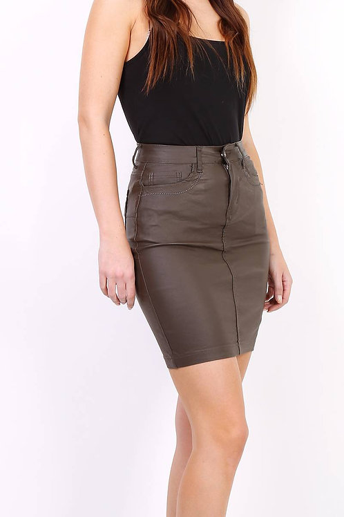 OILED SKIRT 6 COLORS - JUPE HUILÉE 6 COULEURS