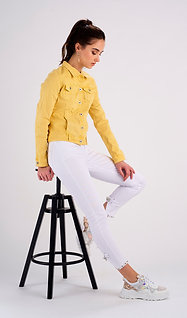 LEMON YELLOW JACKET - VESTE JAUNE CITRON