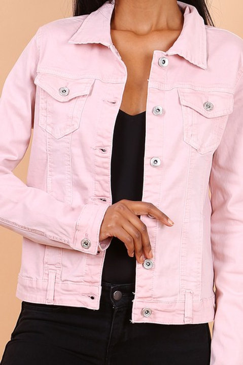 PINK JACKET - VESTE ROSE