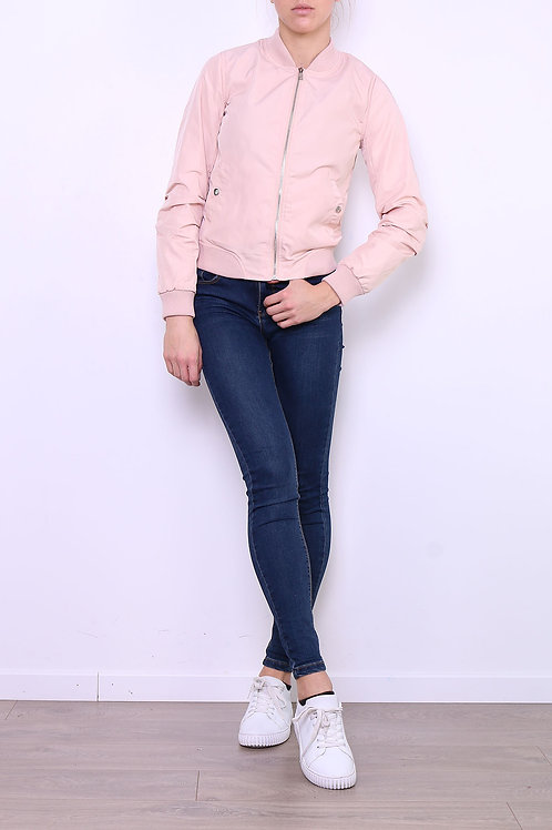 JACKET - VESTE BOMBER ROSE TIGUE M689P