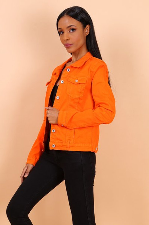 ORANGE JACKET - VESTE ORANGE