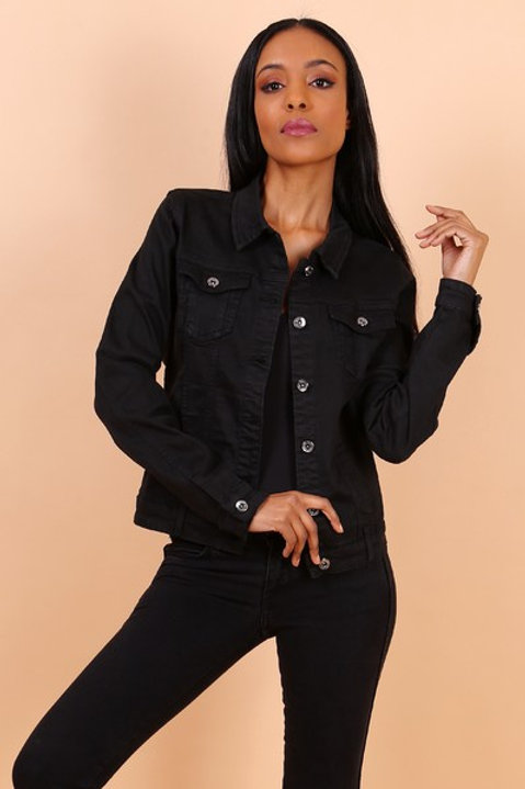 BLACK JACKET - VESTE NOIR