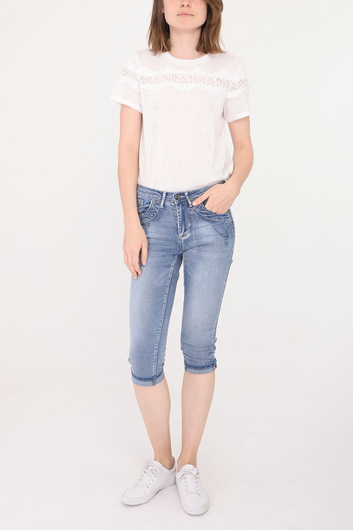 DENIM PANTS - PANTACOURT JEAN CLAIR