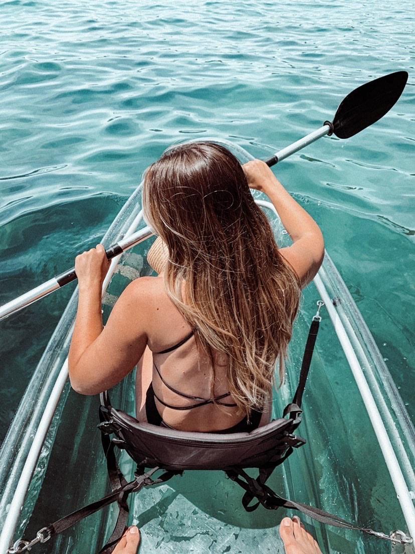 2 Hour Single Clear Kayak Rental