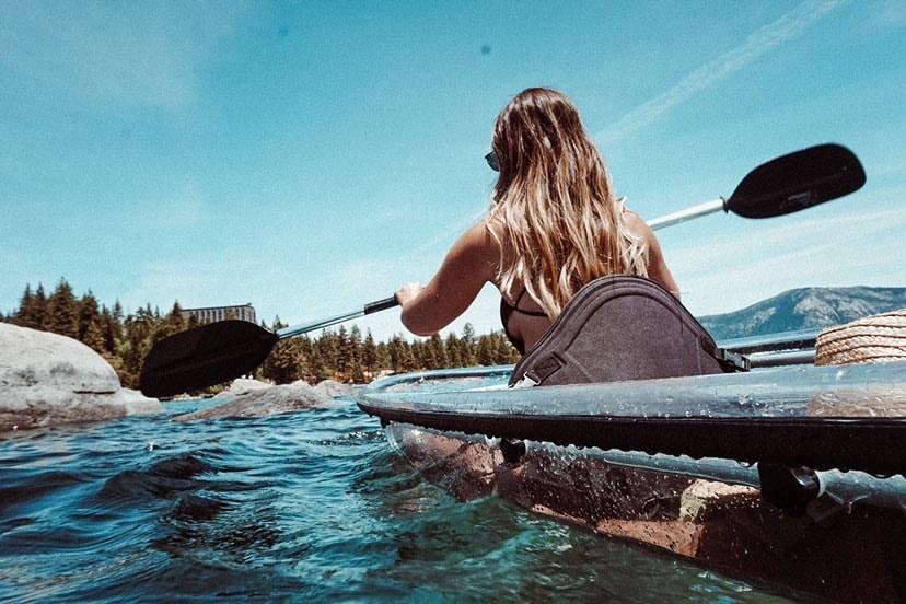 1 Hour Single Clear Kayak Rental