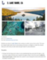 Feature by Expedia for our Crystal Kayak Experience