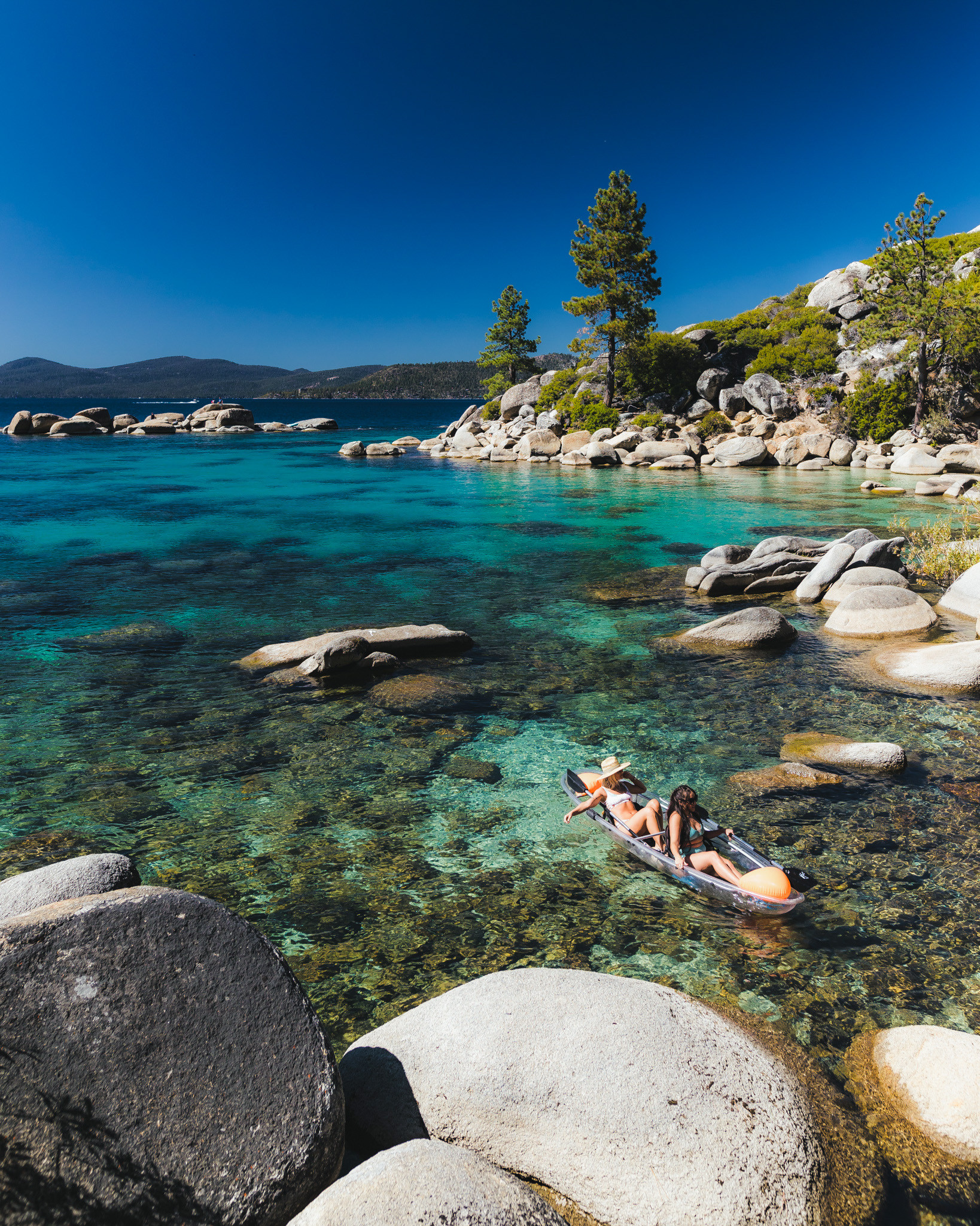 2 Hour Tandem Clear Kayak Rental