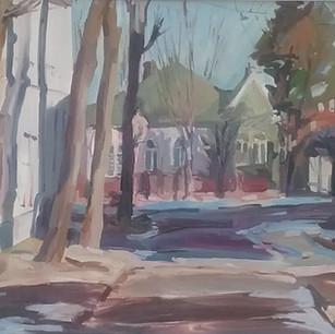 'Lviv Winter Morning'