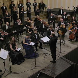 Conductor: Volodymyr Syvokhip, Vocals: Gloria Chamber Choir, with the Lviv Philharmonic Orchestra