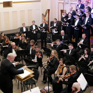 Conductor: Theodore Kuchar, Vocals: Male Chorus from Swedish Lund University, with the Lviv Philharmonic Orchestra