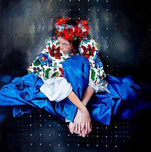 'Ukrainian Blue'