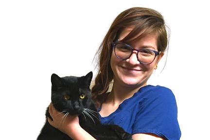 Bristy Greider | Veterinary Assistant | Black Cat