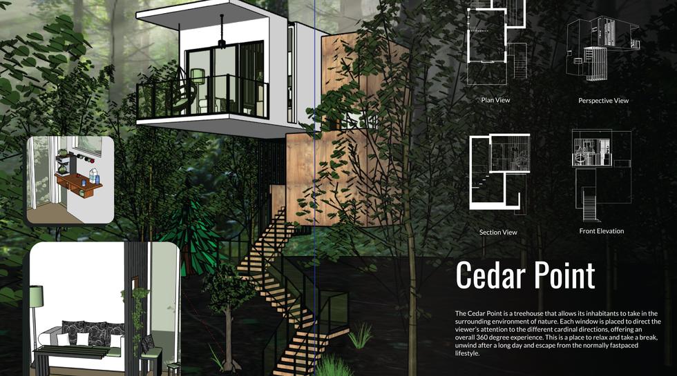 Treehouse Design - Cedar Point