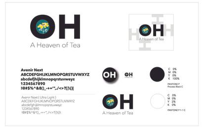 """""""OH"""" Tea Packaging"""