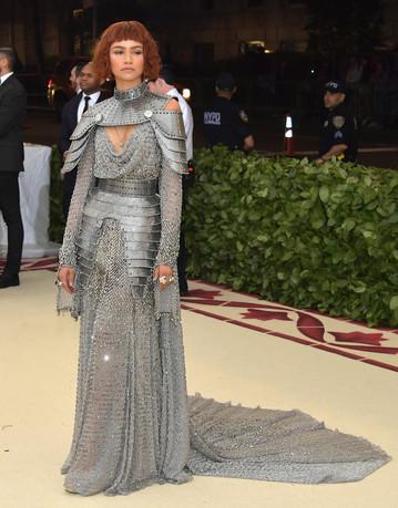 Custom Versace for Zendaya, Met Gala 2018