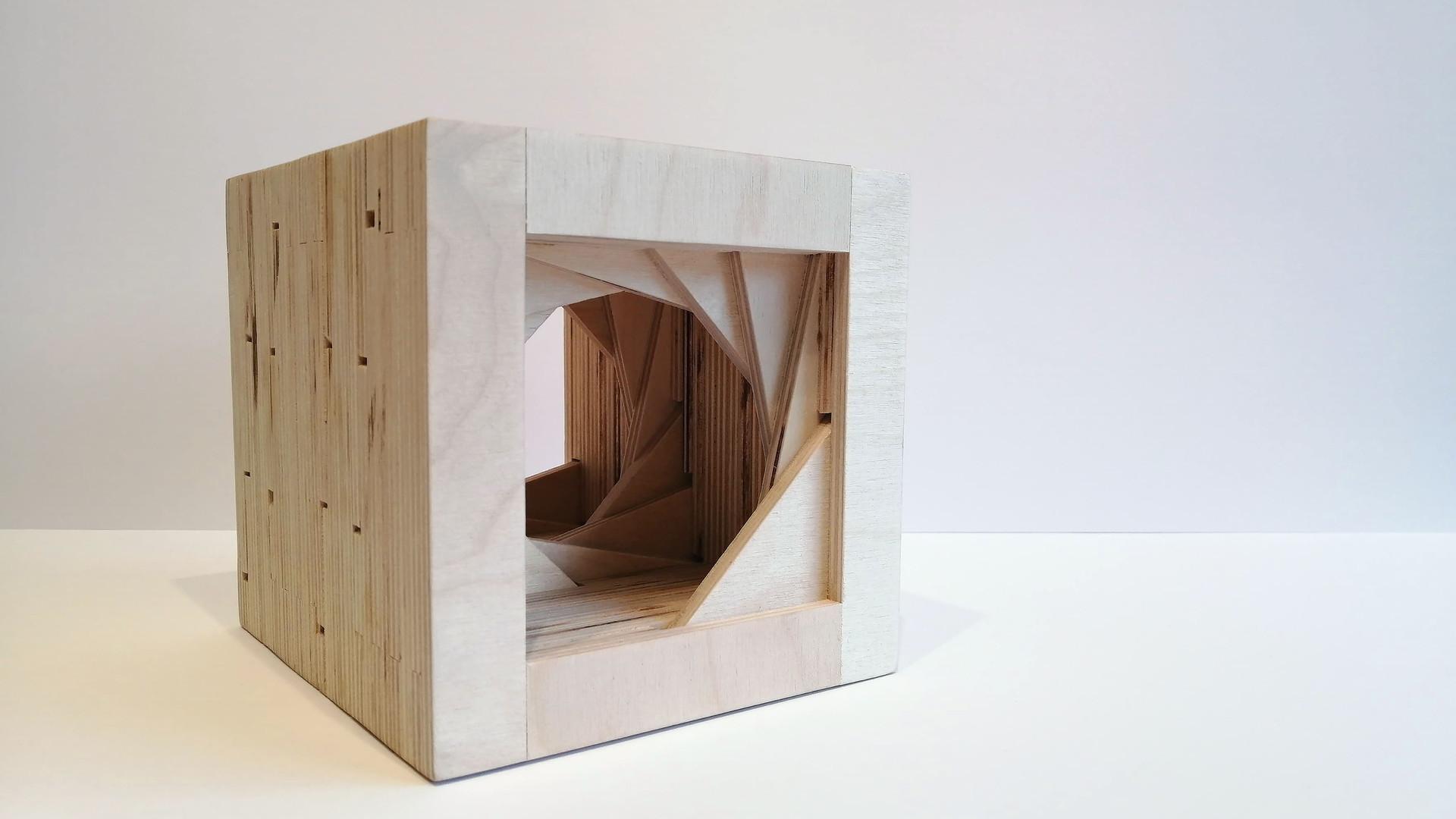 Birch Plywood Sculpture