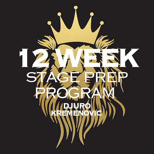 12 WEEK PREP PROGRAM